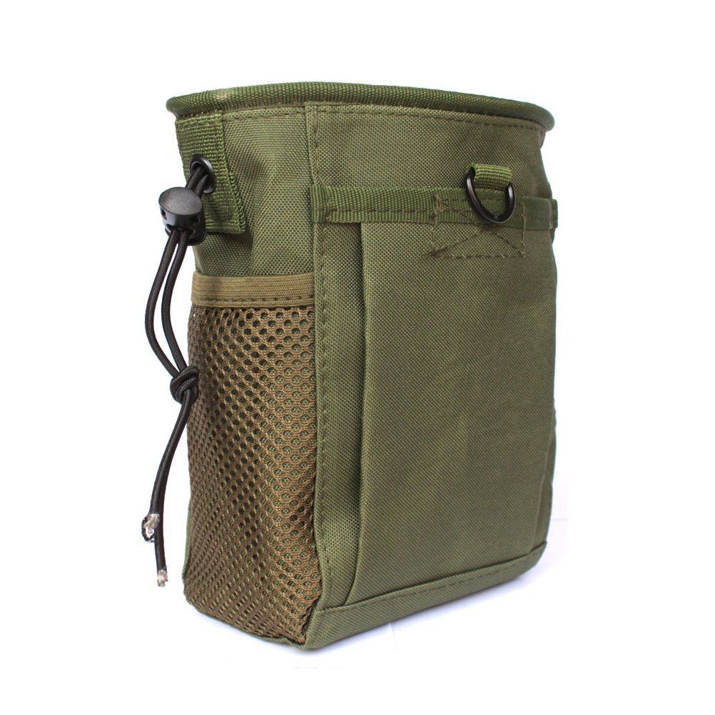 32ab6a9c9116 Amazon.com : Tactical Molle drawstring Magazine Dump Pouch, Military ...