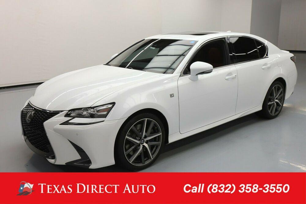 For Sale 2016 Lexus GS FSPORT 4dr Sedan Texas Direct