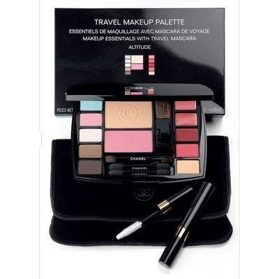 d1c8c293eb1 Chanel Travel Makeup Palette Altitude - Essentials with 4 Brushes ...