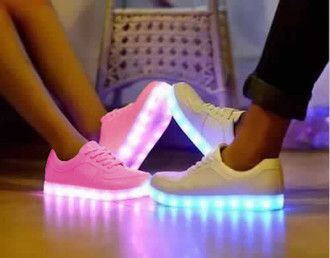 nike air force led light