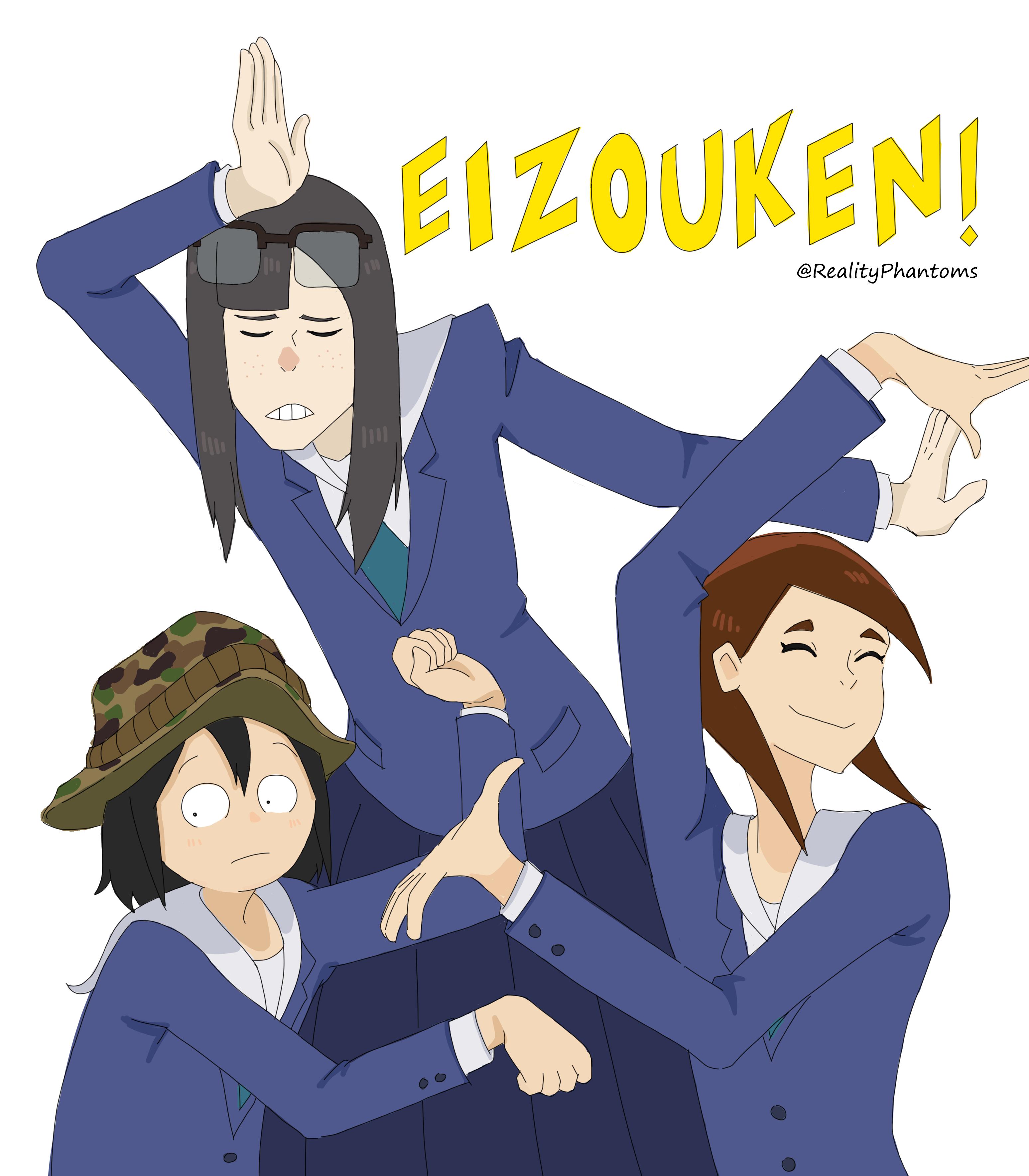 Reality Phantoms On Twitter In 2020 Anime Fanart Anime Art