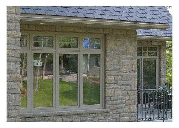 Picture Awning Windows Above Casement Windows In 2020 House Windows Prairie Grill Windows Window Design