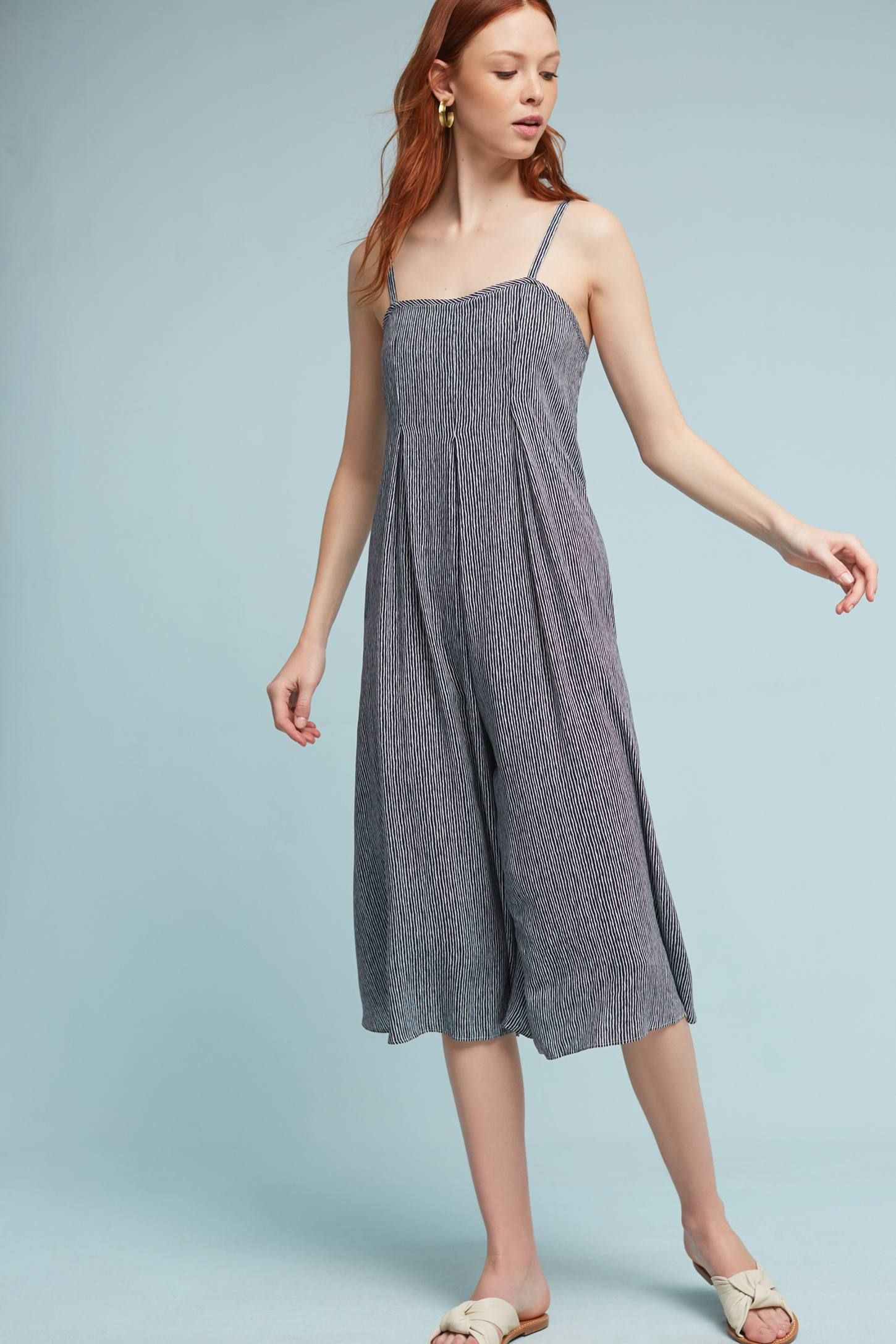 b54a905e21a Shop the Faye Striped Jumpsuit and more Anthropologie at Anthropologie  today. Read customer reviews