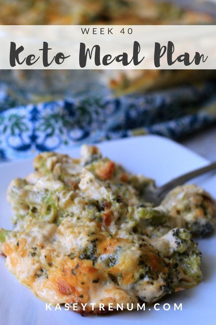 Ketogenic Diet Meal Plan Week 40