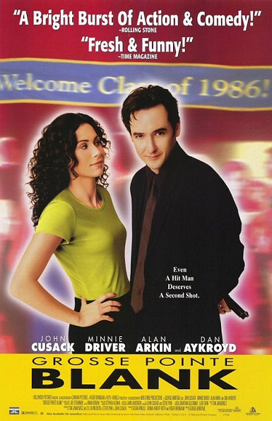 Gross Pointe Blank- John Cusack, Alan Arkin and one of the best soundtracks ever!