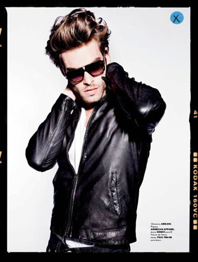 Jon Kortajarena by Santiago Ruisenor for Elle Man Mexico.