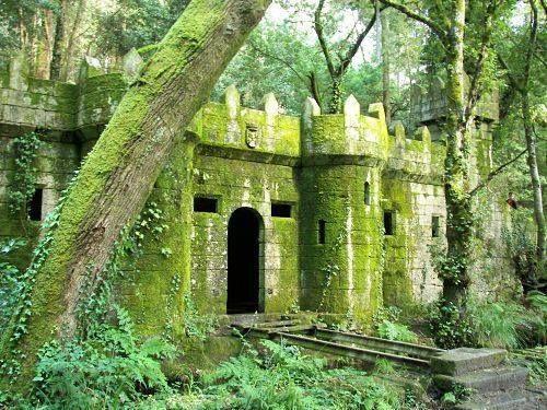 Castillo De Aldán O Bosque Encantado Qué Hacer En Vigo España Turismo Lugares De España Sitios Para Viajar