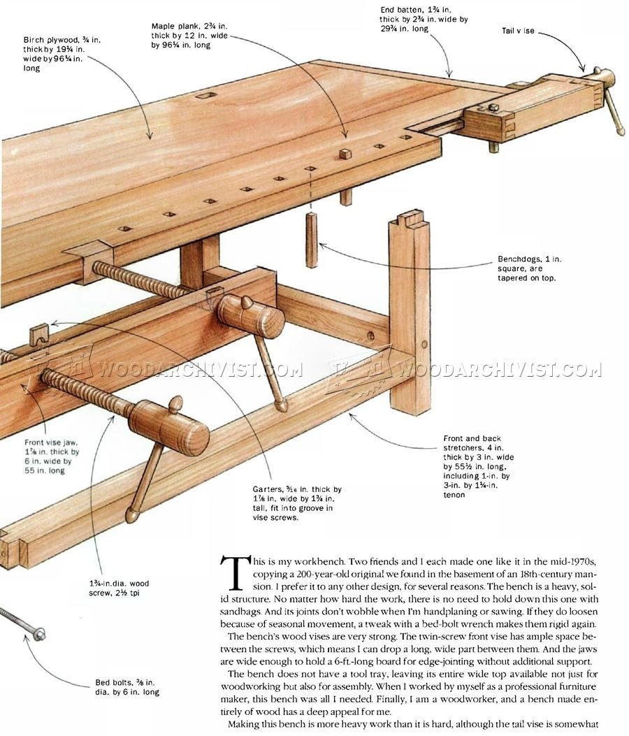 Heavy Duty Workbench Plans With Images Heavy Duty Work Bench