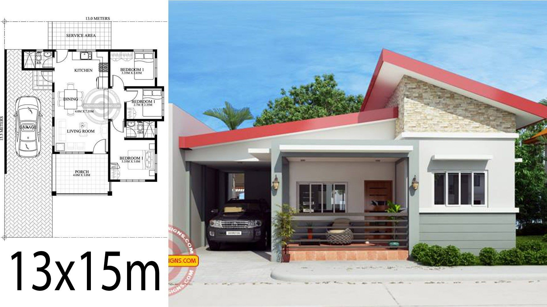 Modern Simple Terrace Design For Small House In Philippines Home Design Plan Simple Bungalow House Designs Small House Design