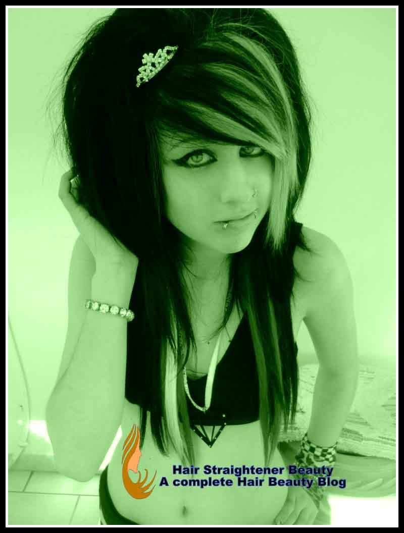 cute emo hairstyles for girls hair pinterest emo