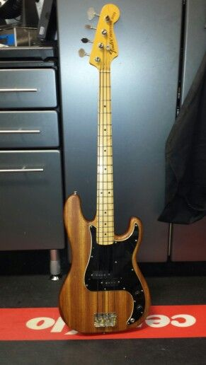 One off Ray Armstrong Fender Precision bass. Mahogany body.I'm