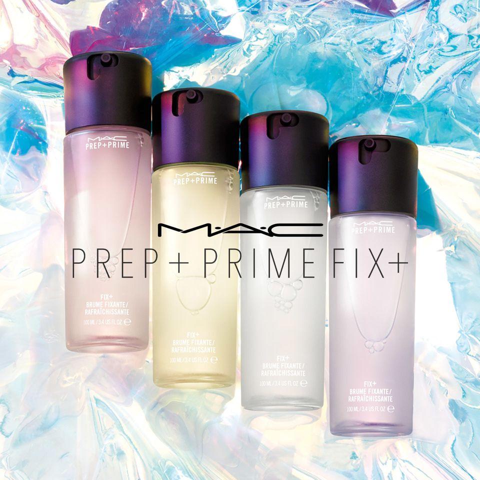 MAC Prep & Prime Fix + Makeup Setting Spray Makeup