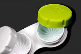 When travelling, put small amounts of face wash, lotion, etc. in contact lens cases.  It'll save lots of room!