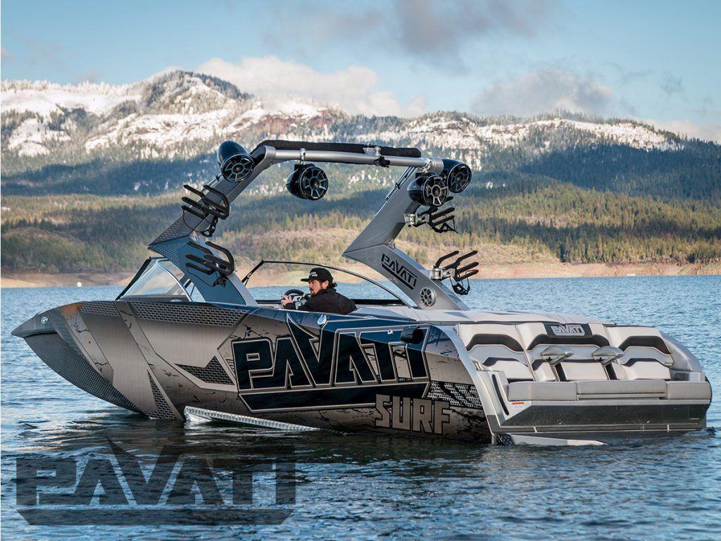 Pavati Al24 Aluminum Wake Boat Pavati Aluminum Wake Boats Boat Wakeboard Boats Malibu Boats
