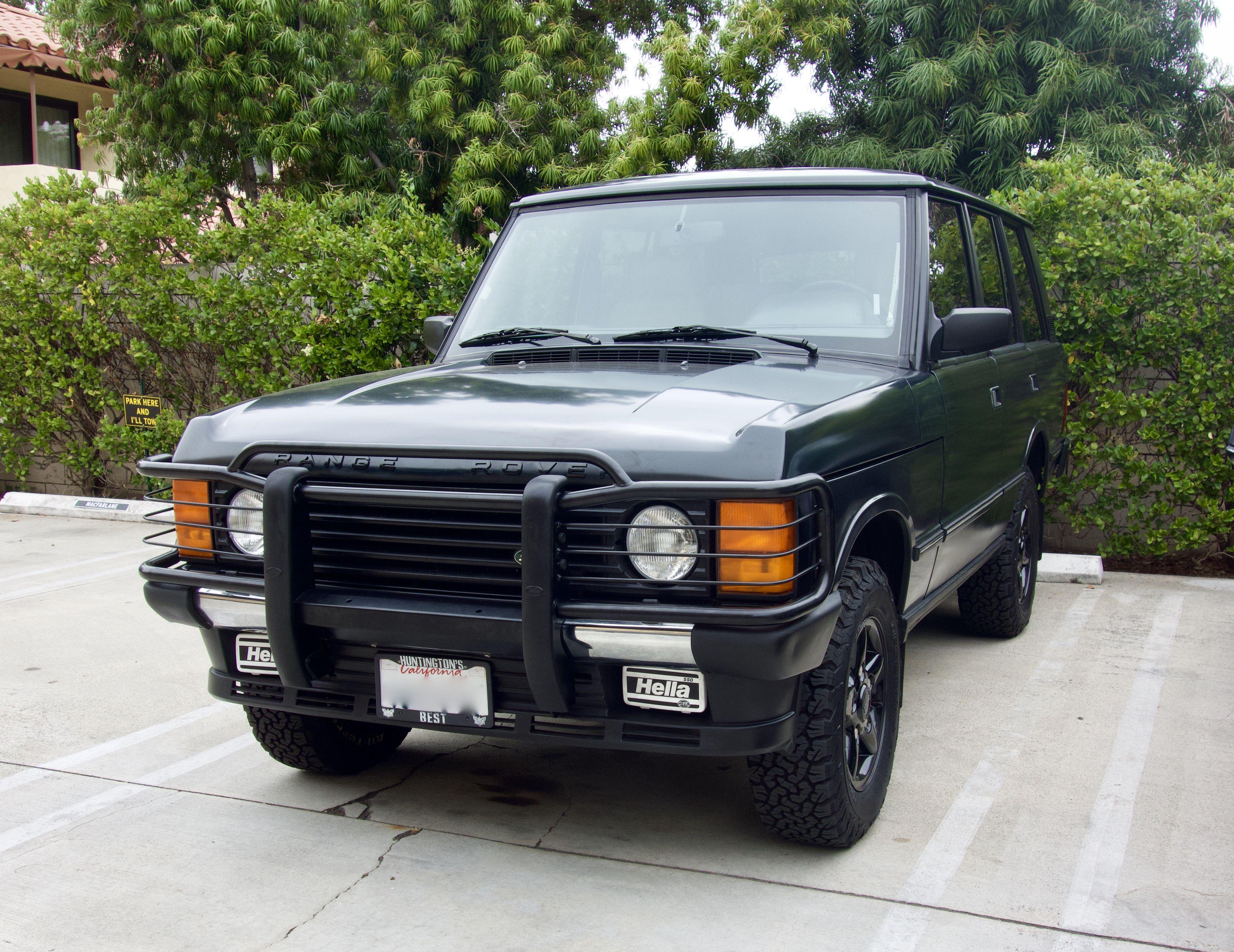 My 1995 Range Rover Classic SWB Araba