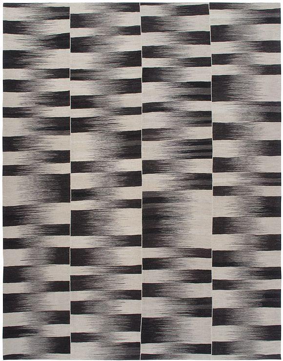 8 X 12 Rug Flat Weave White