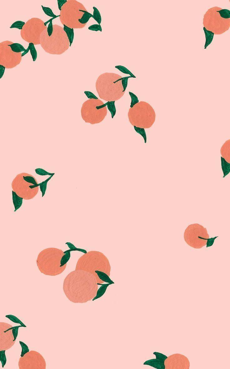 Pinterest Insta Missmegs0802 Peach Wallpaper Fruit Wallpaper Art Wallpaper