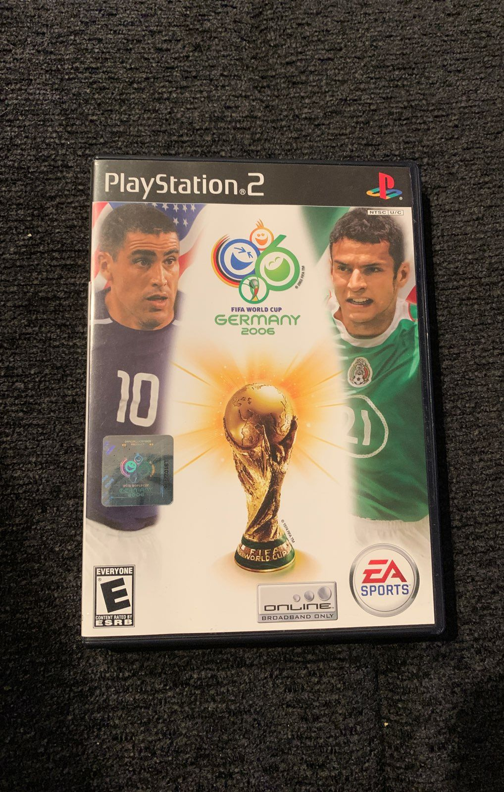 Fifa World Cup Germany 2006 By Ea Sports For Ps2 Game Is In Great Shape With The Original Box And No Scratches Or Defects World Cup Fifa World Cup Fifa