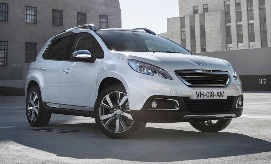 Crossover Peugeot 2008: Details zu Preis und Ausstattung ...