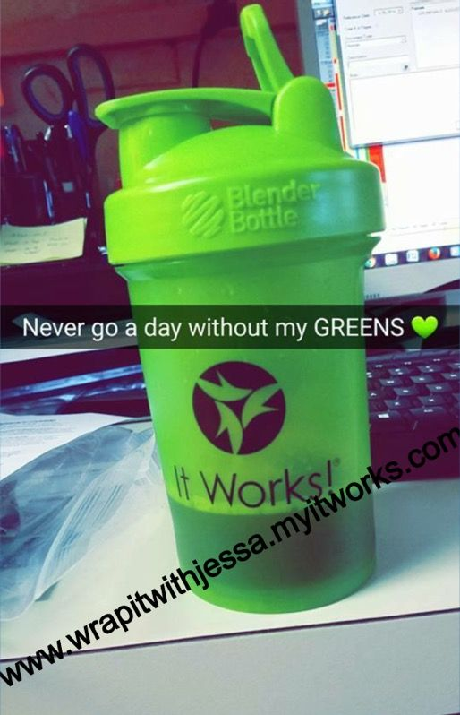 Get your daily servings of fruits and veggies! Plus alkalize, detoxify, and balance your body! www.wrapitwithjessa.myitworks.com