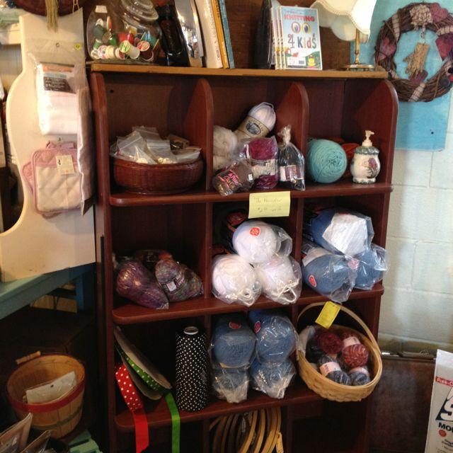 Furniture Stores Wheaton Il: Yarn Cubby -- {the Wadena Flea Market}