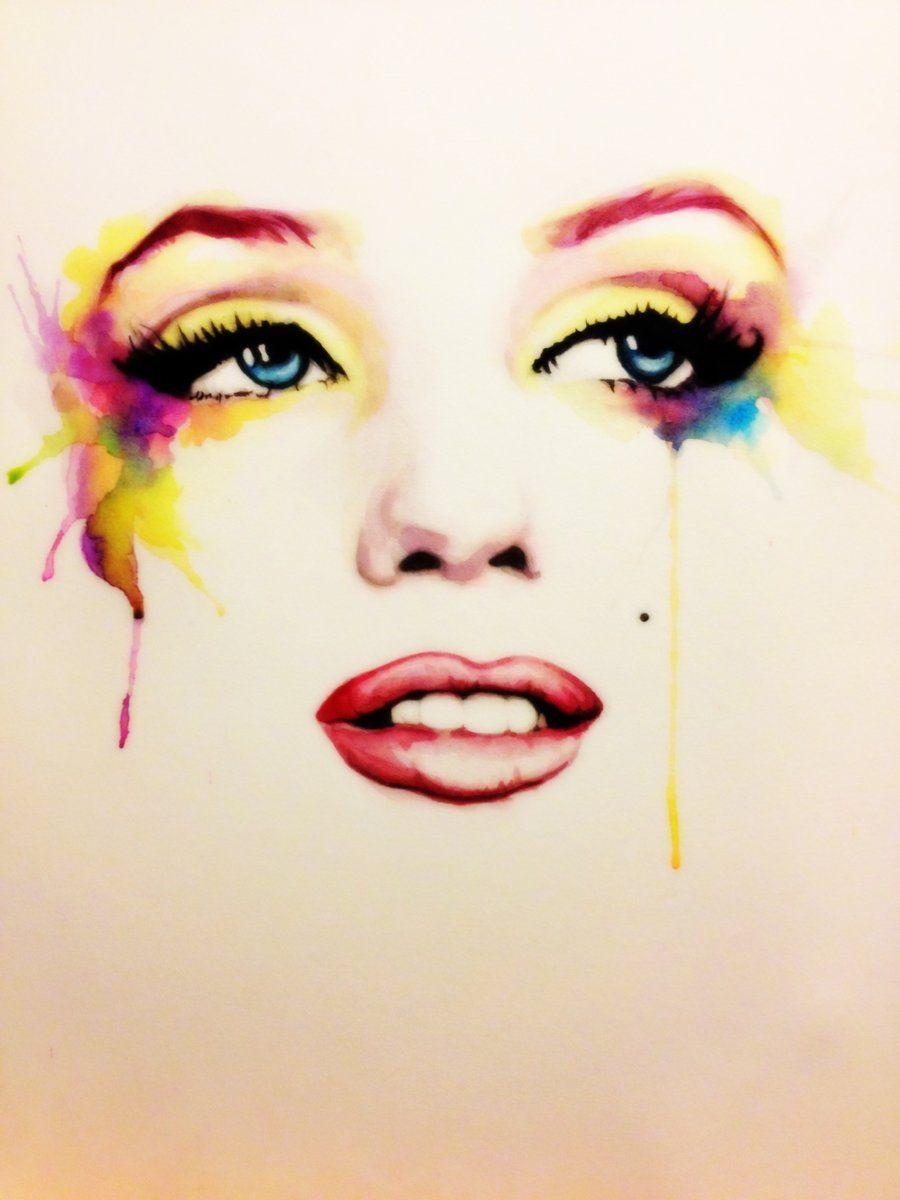 Marilyn by ~ladulcevita on deviantART  | This image first pinned to Marilyn Monroe Art board, here: http://pinterest.com/fairbanksgrafix/marilyn-monroe-art/ || #Art #MarilynMonroe