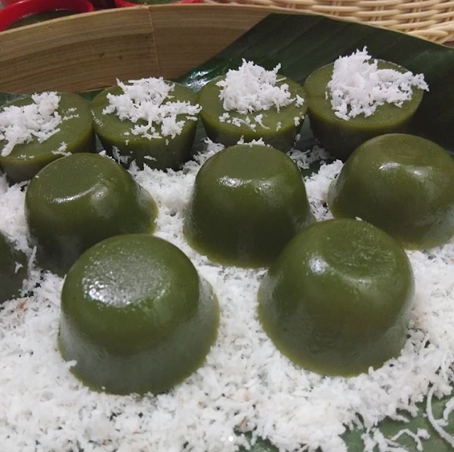 Kue Lumpang Pandan Kue Tradisional Khas Palembang Resep Kue Makanan Resep