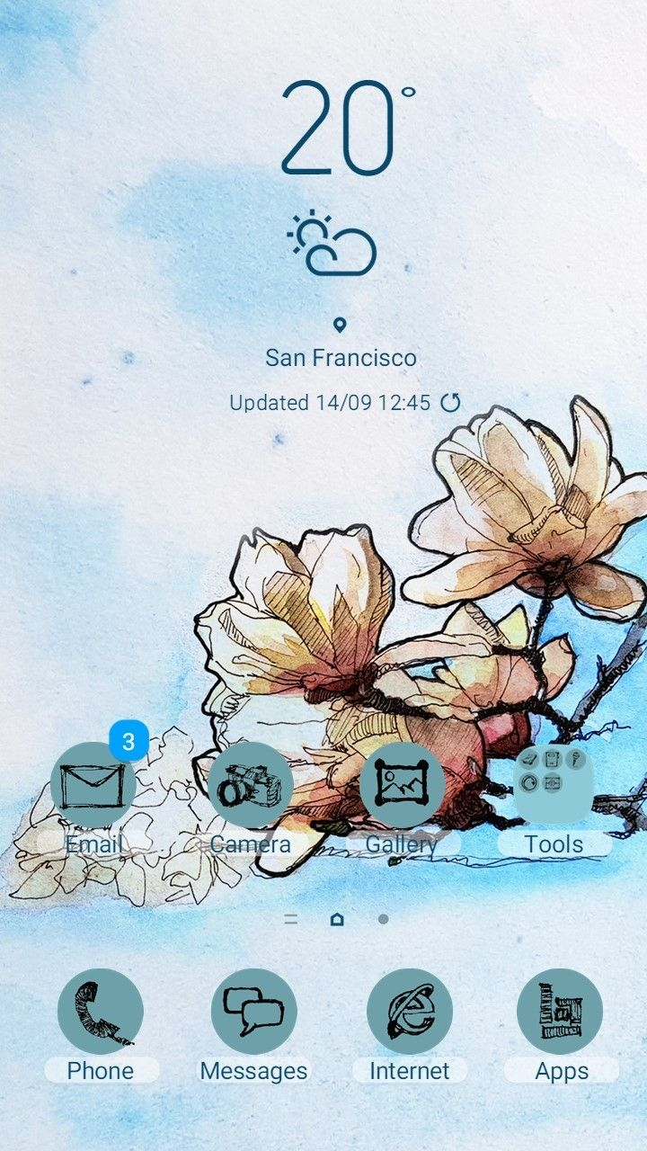 Color of Spring in Themes | Samsung Themes Magazine