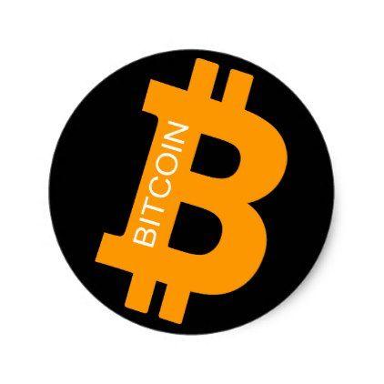 Bitcoin Logo Symbol Cryptocurrency Crypto Sticker