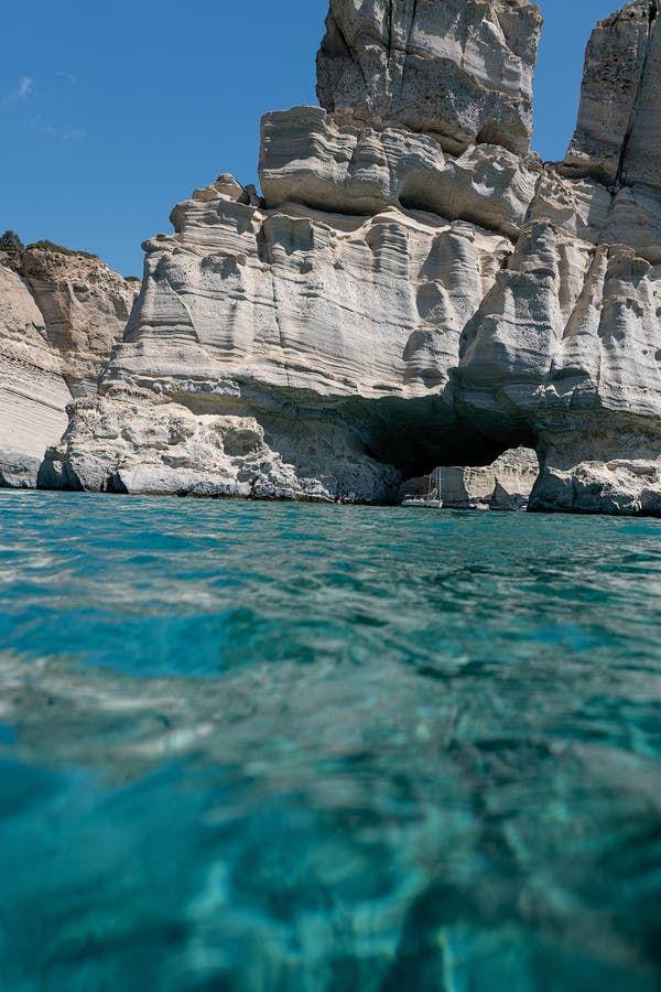 Around Milos, Swimming the Aegean Sea - The New York Times #aegeansea