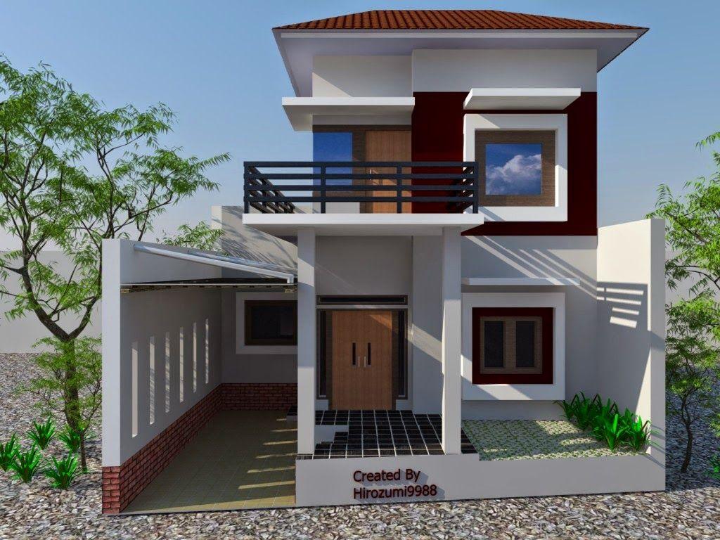 11 Fachadas de balcones de casas pequenas