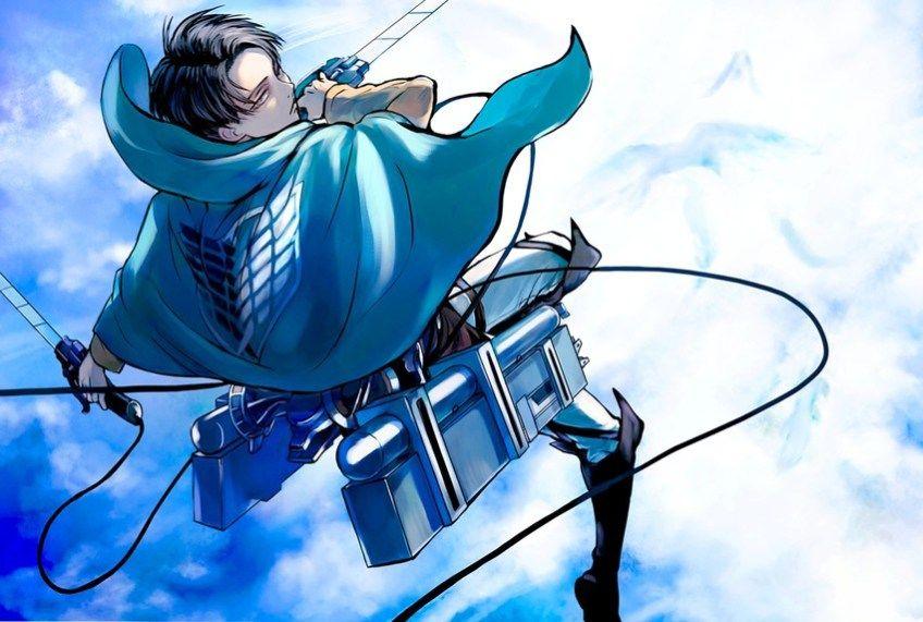 Shingeki no Kyojin- Levi