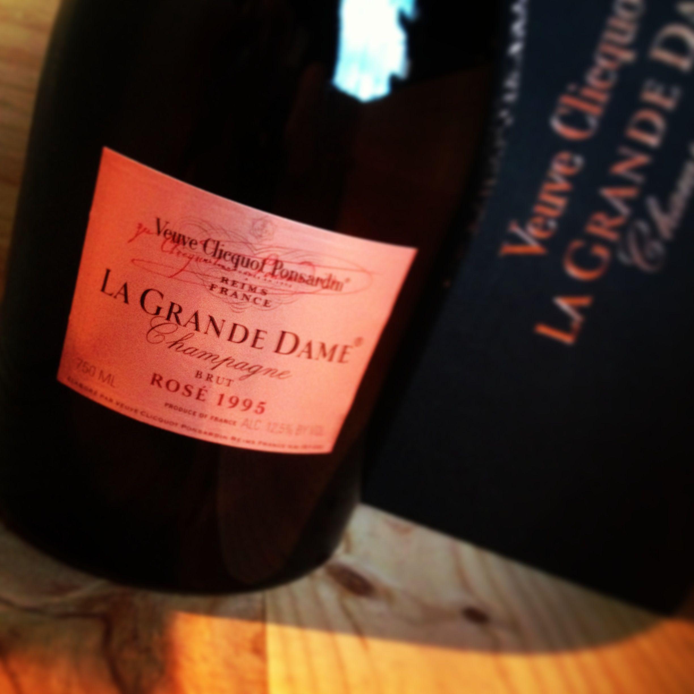 1995 Veuve Clicquot La Grande Dame Rosé ı #Champagne