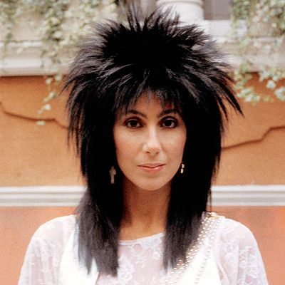 Image result for cher hair 1980