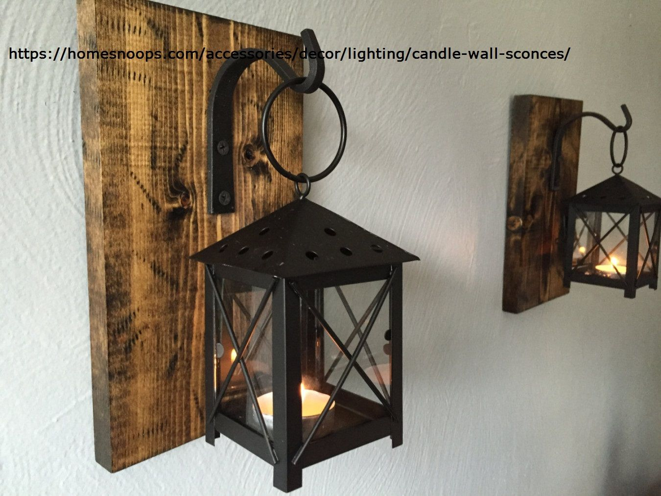 Best Candle Wall Sconces That Will Illuminate Your Home With