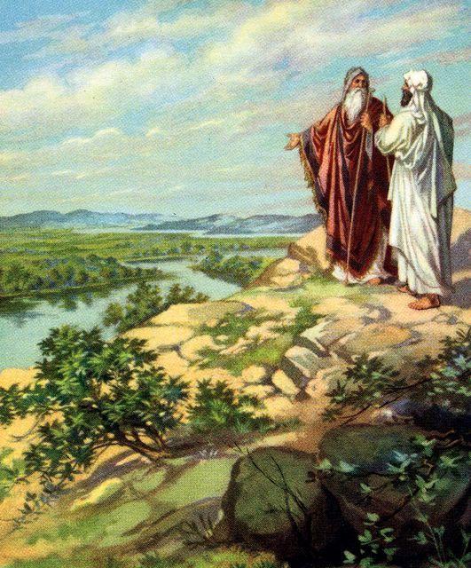 Brothers Abraham And Lot Image Biblique Histoire Biblique Priere A Dieu