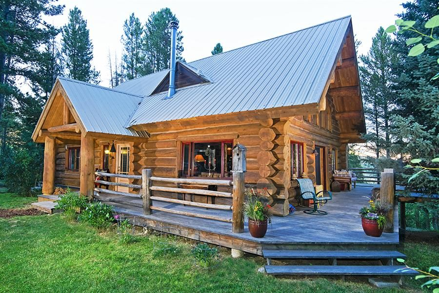 Single Story Log Cabins Google Search Log Homes Log Cabin Plans Log Cabin Homes