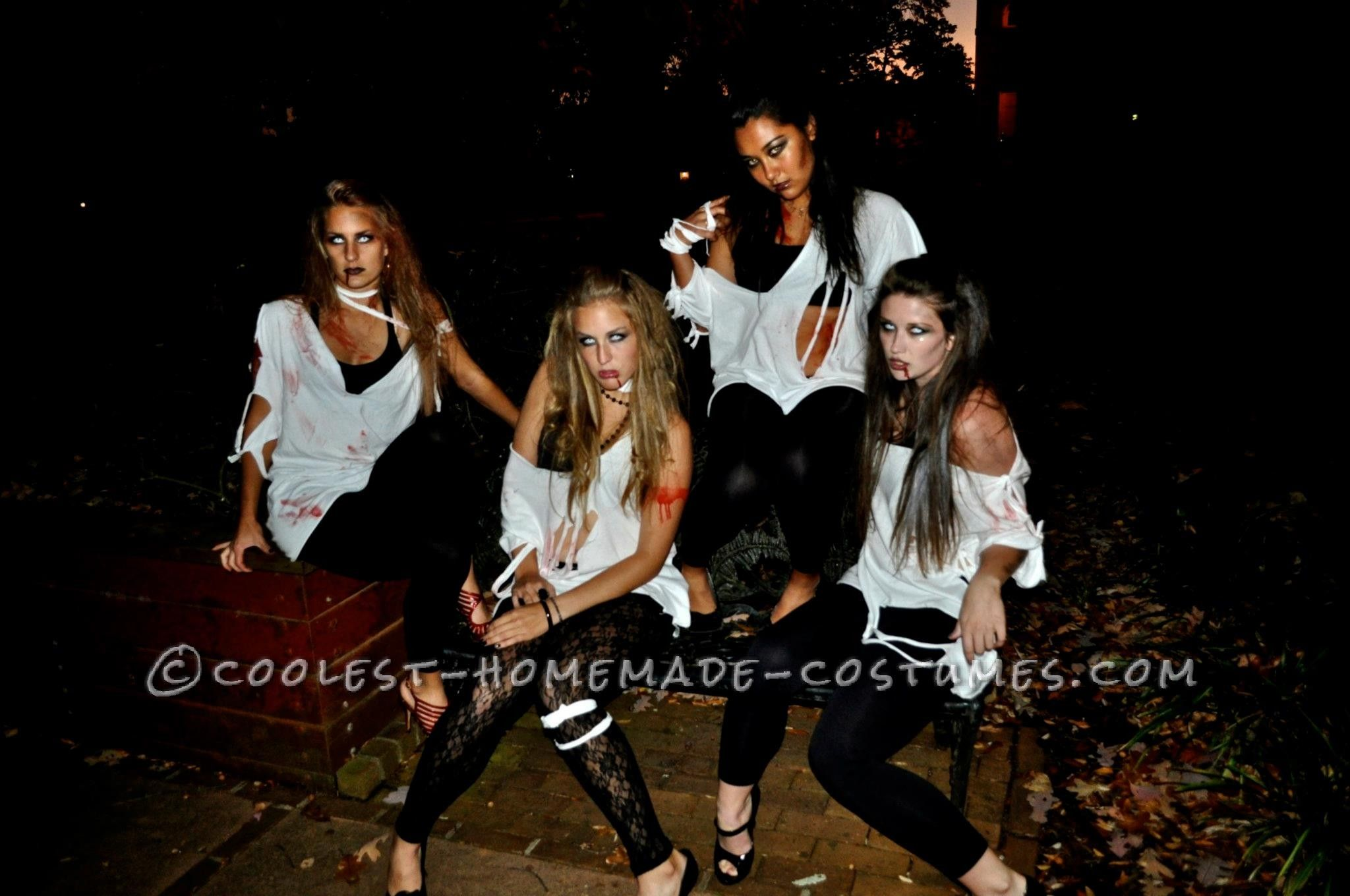 Coolest 1000 homemade costumes you can make girl group costumes easy last minute college girl group costume sexy zombies this website solutioingenieria Image collections