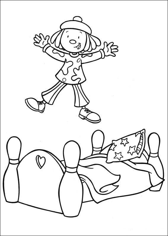 Desenhos para colorir Jo Jo's Circus 1