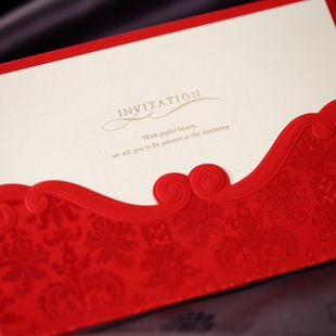 Cheap silk printed top, Buy Quality print own wedding invitations directly from China invitation card printing Suppliers:  Themes: Garden Theme,Classical ThemeSeasons: Spring,Summer,Autumn, WinterColor: RedDesign & Style: Floral Styl