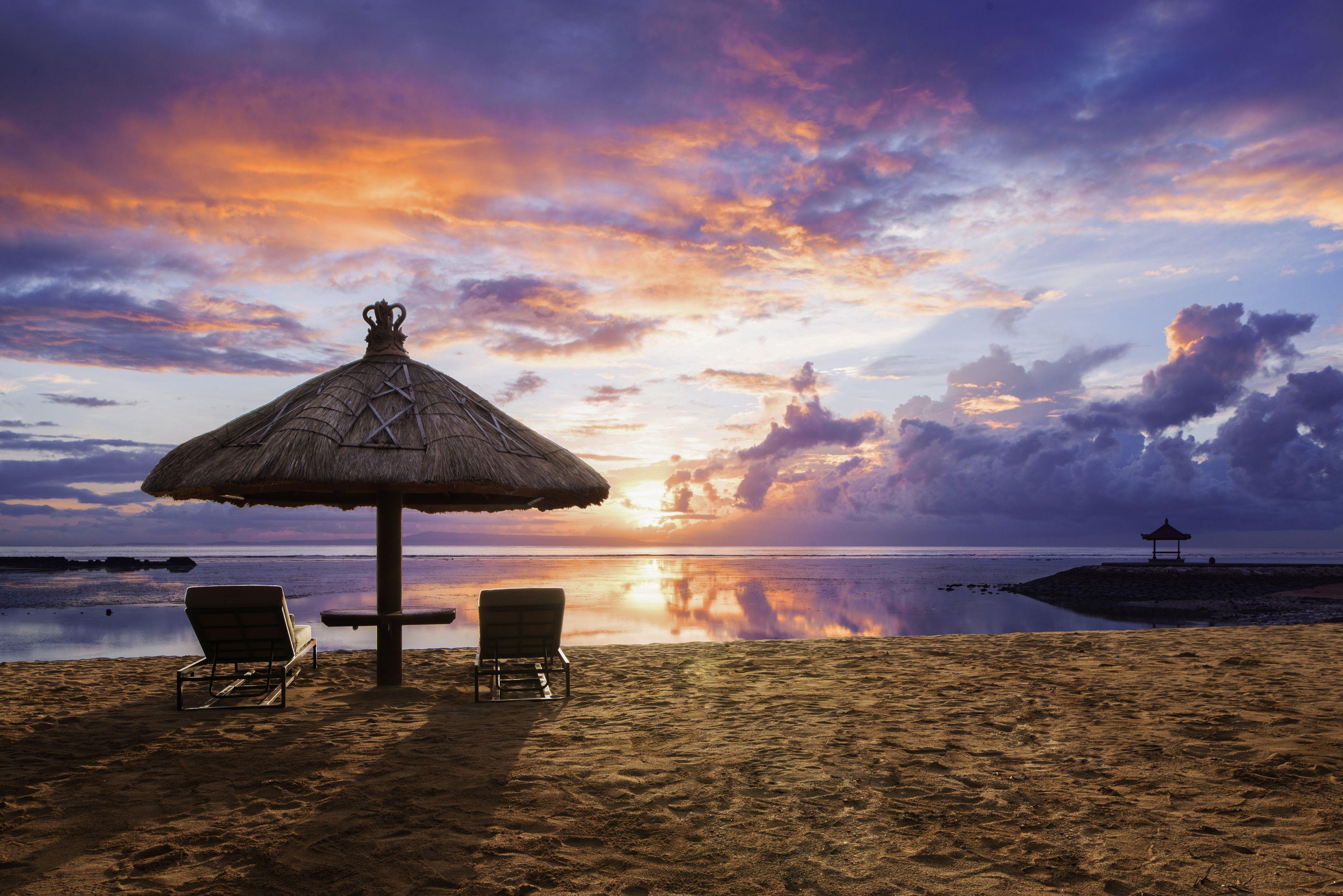 Sunset Sofitel Bali Nusa Dua Beach Resort Indonesia Asia