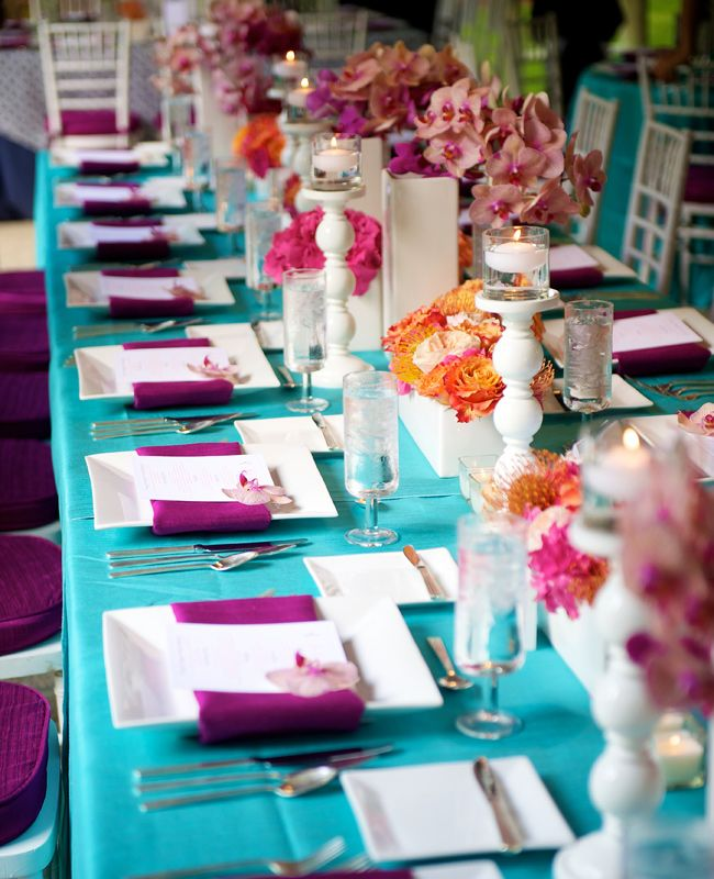 Best Ideas For Purple And Teal Wedding: 20 Most Inspiring Wedding Ideas Of 2013