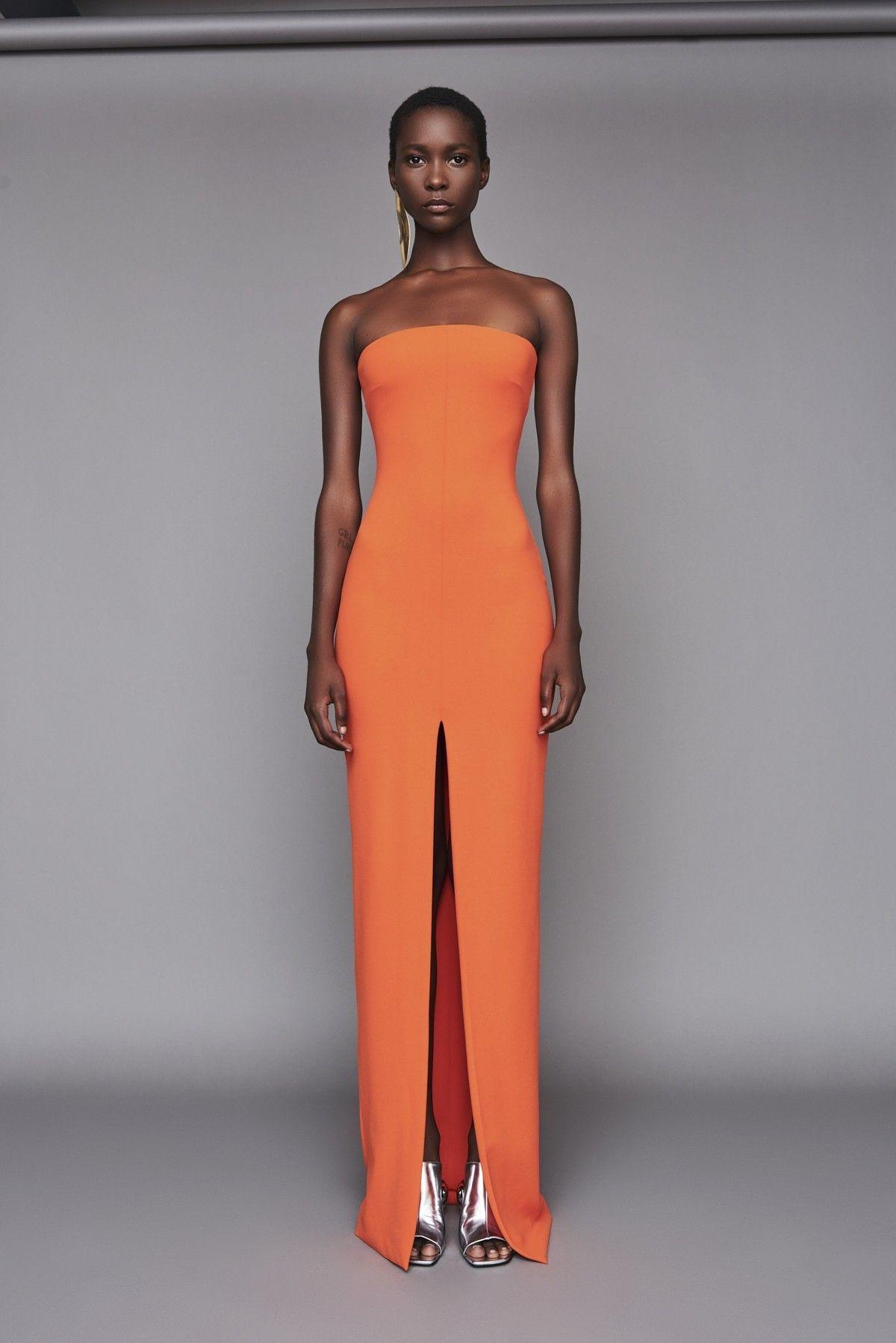 364616e35a5 Solace London Bysha Maxi Dress Bright Orange