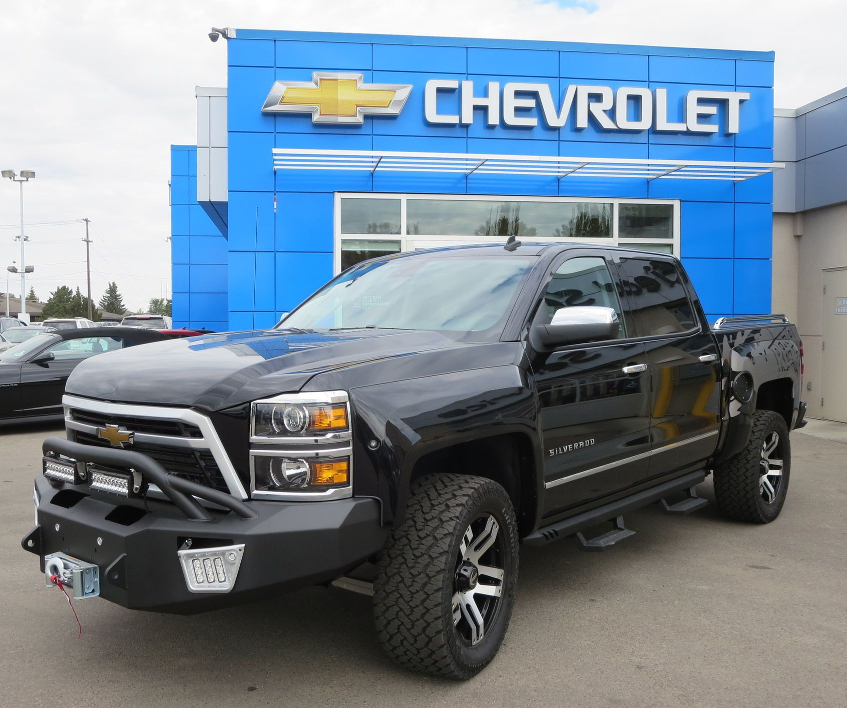 at news hands for quick on sale first reaper look take chevrolet s roadshow a silverado the here