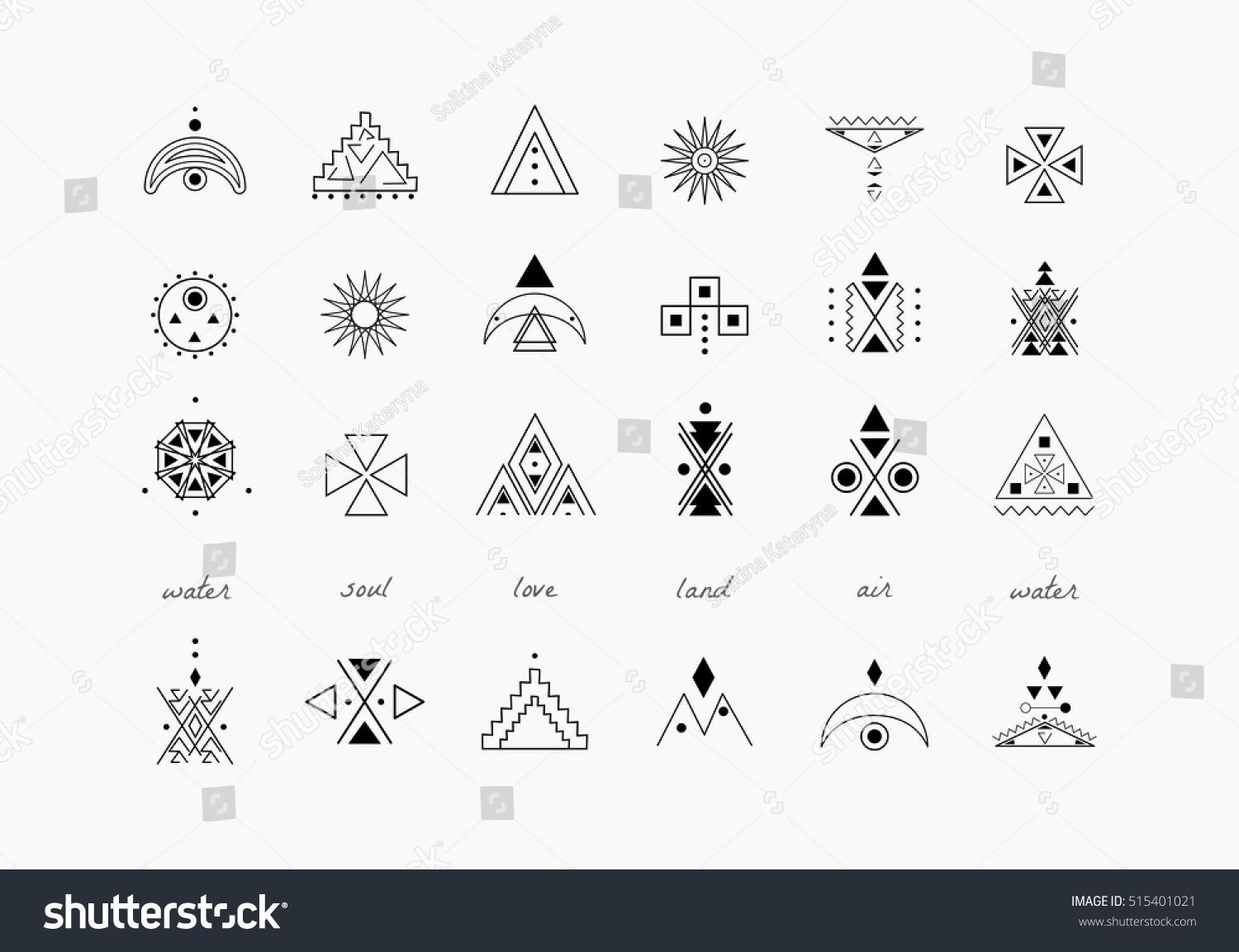 Sacred Geometry Set Of Minimal Geometric Shapes Business Signs Labels Trendy Hipster Linear Ico Sacred Geometry Geometric Shapes Bullet Journal Inspiration