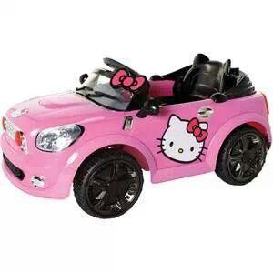 hello kitty coupe battery powered ride on savannahs dream car