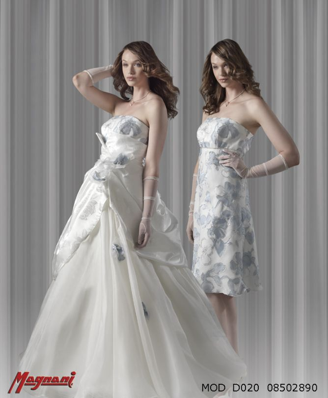 Italian Dual Dress By Magnani