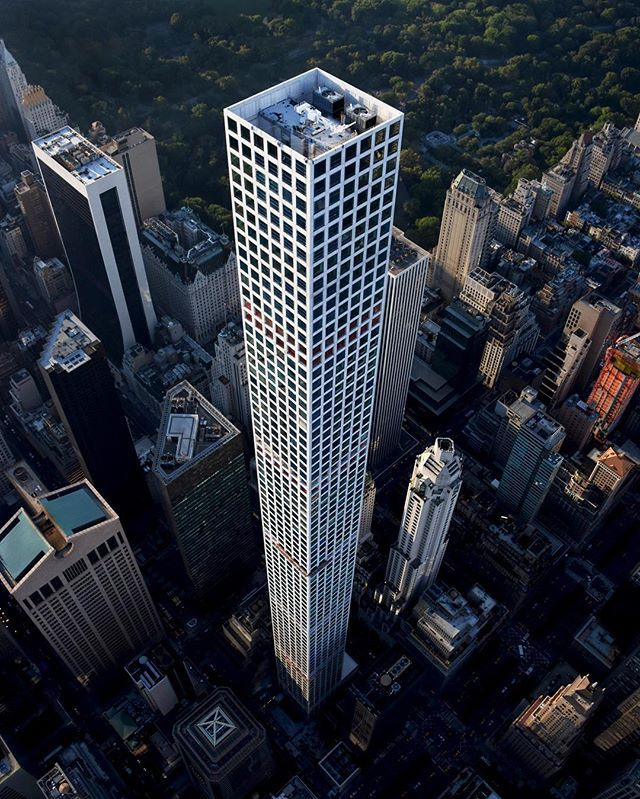 432 Park Avenue Nyc Condo Apartments: New York City 432 Park Avenue. At A Height Of 1,396 Ft