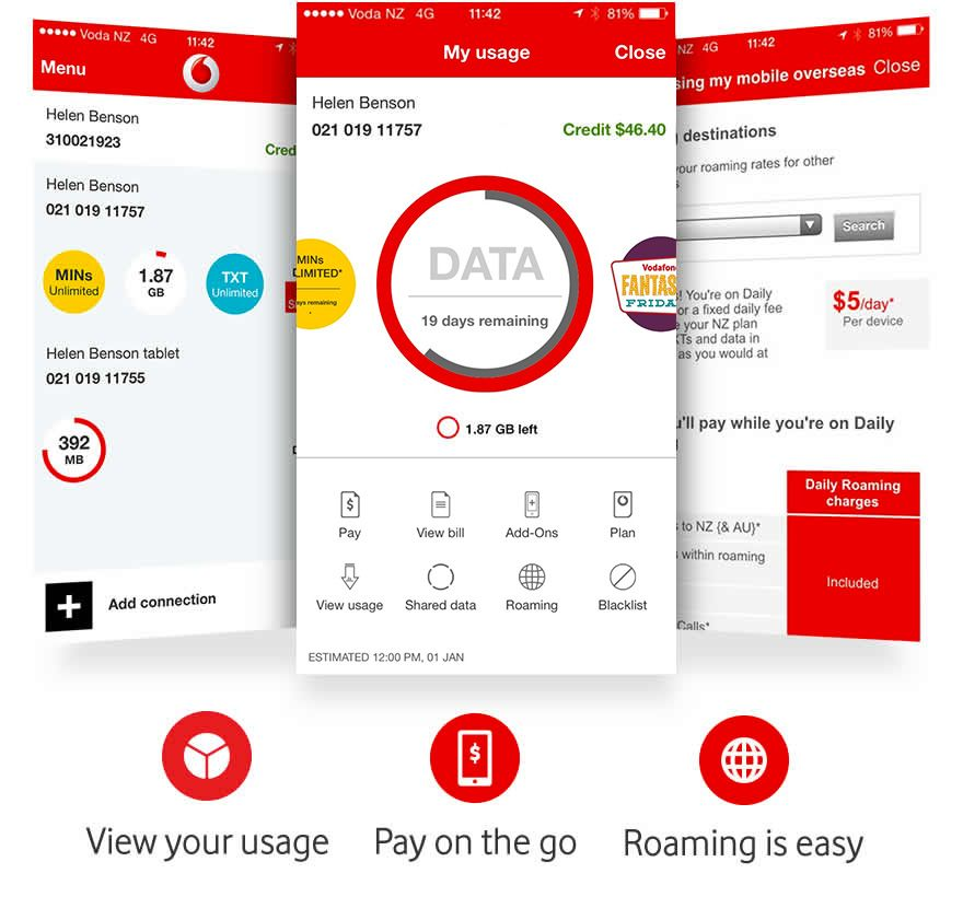 My Vodafone With Images Vodafone How To Plan App