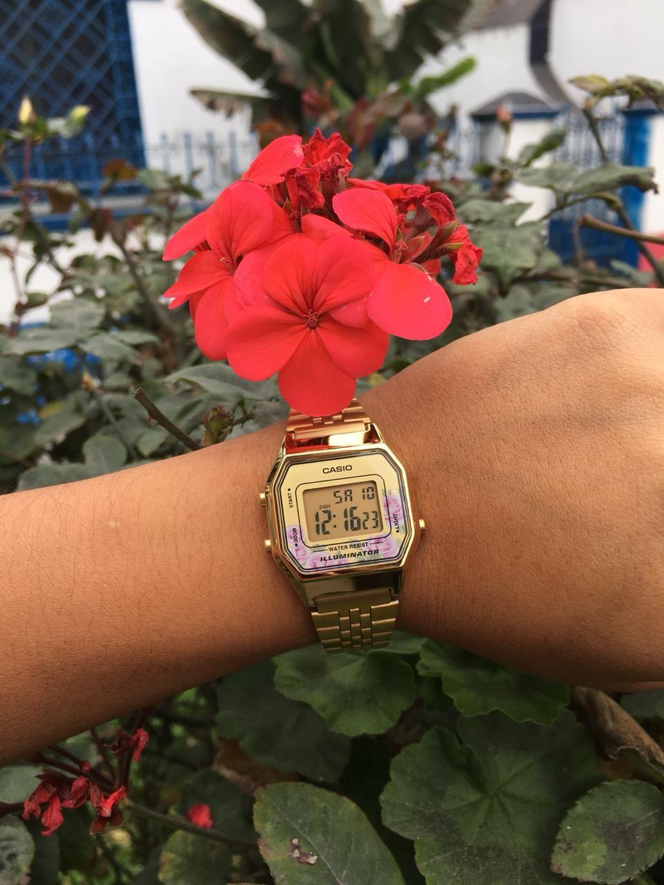 922905575 Reloj CASIO LA680 Classic Floral Gold for Ladies . 📼☎ 💾 BETAMAX Retro  Store 📼